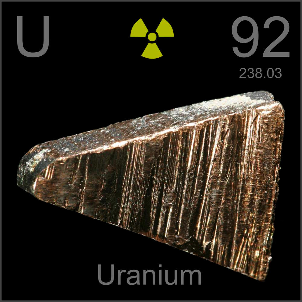 a discussion about the nature and uses of uranium